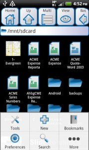 ASTRO File Manager main2
