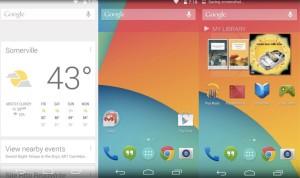 Android 4.4 KitKat - Ekran Główny