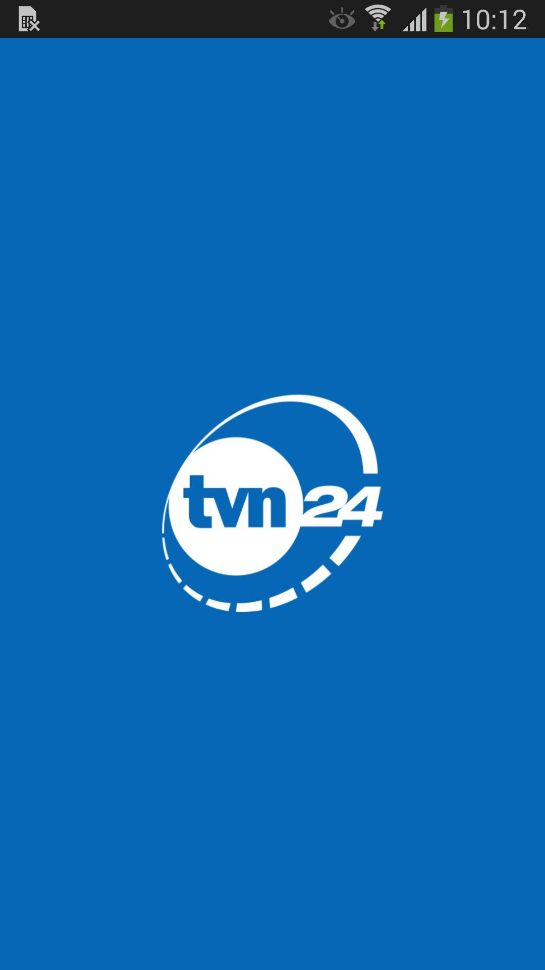Aplikacja TVN24 Androida