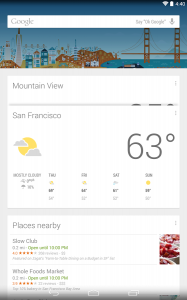 Launcher Google Now 2