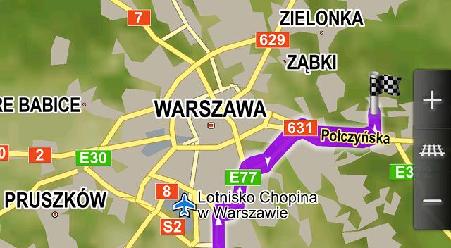 Nawigacja i mapa offline