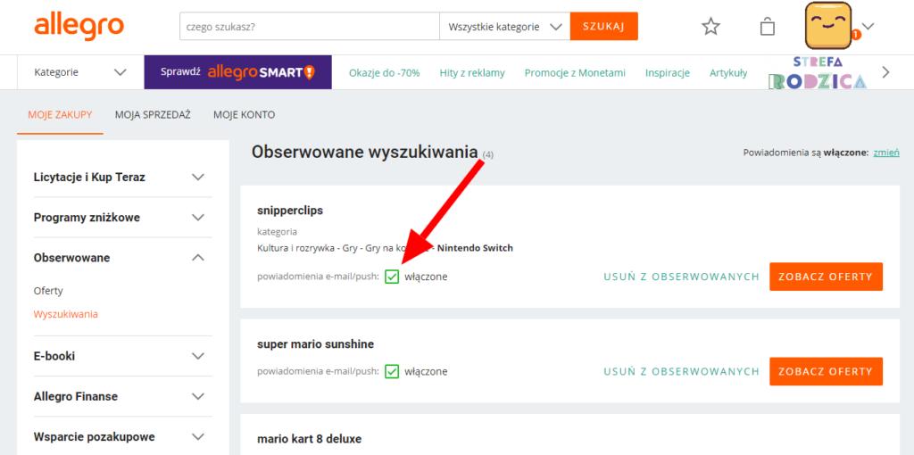 Niechciane Powiadomienia Z Allegro Nowe Oferty W Twoich Obserwowanych Wyszukiwaniach Aplikacje I Porady Na Androida